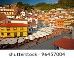 Nice And Colorful Houses In Th...
