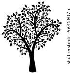 vector design of black and... | Shutterstock .eps vector #96458075