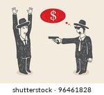 risky action | Shutterstock .eps vector #96461828