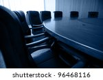 conference table and chairs in... | Shutterstock . vector #96468116