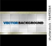 vector blank billboard | Shutterstock .eps vector #96490064