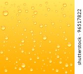 Yellow Drops On Drink...