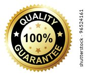 quality guarantee | Shutterstock .eps vector #96524161
