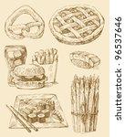 food set | Shutterstock .eps vector #96537646