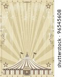 old circus grunge background.... | Shutterstock .eps vector #96545608