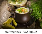 Polish Cucumber Soup