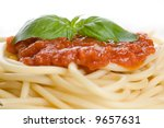 Italian Pasta With Tomato Sauc...