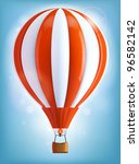 hot air balloon | Shutterstock .eps vector #96582142