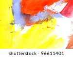 abstract water color for... | Shutterstock . vector #96611401