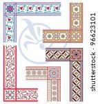 frame and border set   Shutterstock . vector #96623101