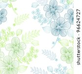 elegant seamless pattern with... | Shutterstock .eps vector #96624727