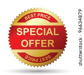 special offer | Shutterstock .eps vector #96634879