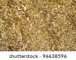 bark mulch - stock photo