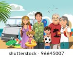 a vector illustration of a... | Shutterstock .eps vector #96645007