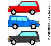 set of  icons   transportation... | Shutterstock . vector #96651388