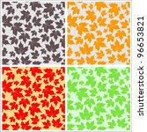 Seamless Maple Leaf Pattern...