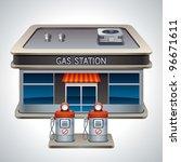 vector detailed illustration of ... | Shutterstock .eps vector #96671611