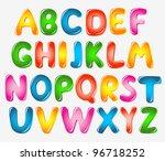 alphabet letters | Shutterstock .eps vector #96718252