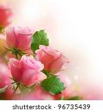 Stock photo roses art design 96735439