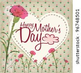 happy mother's day   lovely... | Shutterstock .eps vector #96748501