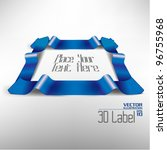 modern corporate three... | Shutterstock .eps vector #96755968