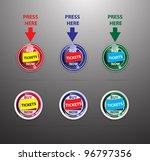 set of web button for ticket... | Shutterstock .eps vector #96797356