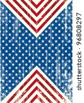 American Flag Distressed...