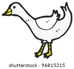 cartoon goose | Shutterstock . vector #96815215