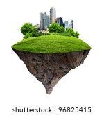 image of a modern city... | Shutterstock . vector #96825415