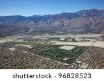Aerial  View Of Palm Springs ...
