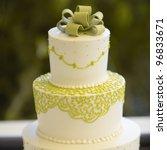 Closeup Of Wedding Cake Top...