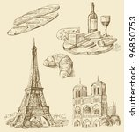 set of france | Shutterstock .eps vector #96850753