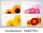 set of banners with different... | Shutterstock .eps vector #96857551
