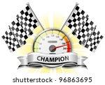 concept   winner  champion.... | Shutterstock .eps vector #96863695