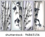 Vertical Abstract Banners Set...
