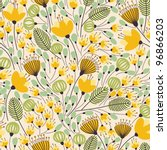 elegant seamless pattern with... | Shutterstock .eps vector #96866203