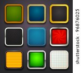 background for the app icons... | Shutterstock .eps vector #96876025