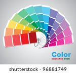color swatches. vector...