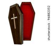 casket top view   Shutterstock . vector #96882352