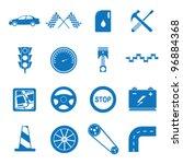 vector illustration icons on...   Shutterstock .eps vector #96884368