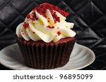 Delicious Red Velvet Cupcake O...