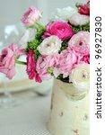 beautiful spring  bouquet of... | Shutterstock . vector #96927830