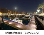 marina at the pearl in doha ... | Shutterstock . vector #96932672