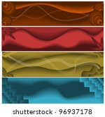 abstract web banners | Shutterstock .eps vector #96937178