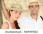 couple on vacation | Shutterstock . vector #96949502