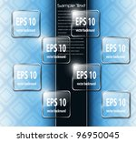abstract background with... | Shutterstock .eps vector #96950045