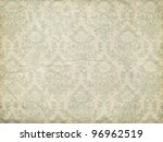 wallpaper pattern  old paper... | Shutterstock .eps vector #96962519