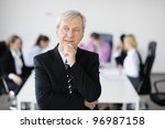 business people  team  at a... | Shutterstock . vector #96987158