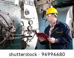 engineer at work   Shutterstock . vector #96996680