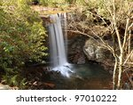 Beautiful Cucumber Falls Is A...